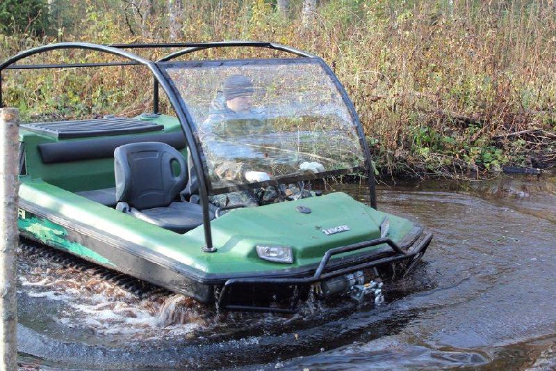 купить болотоход для охоты и рыбалки